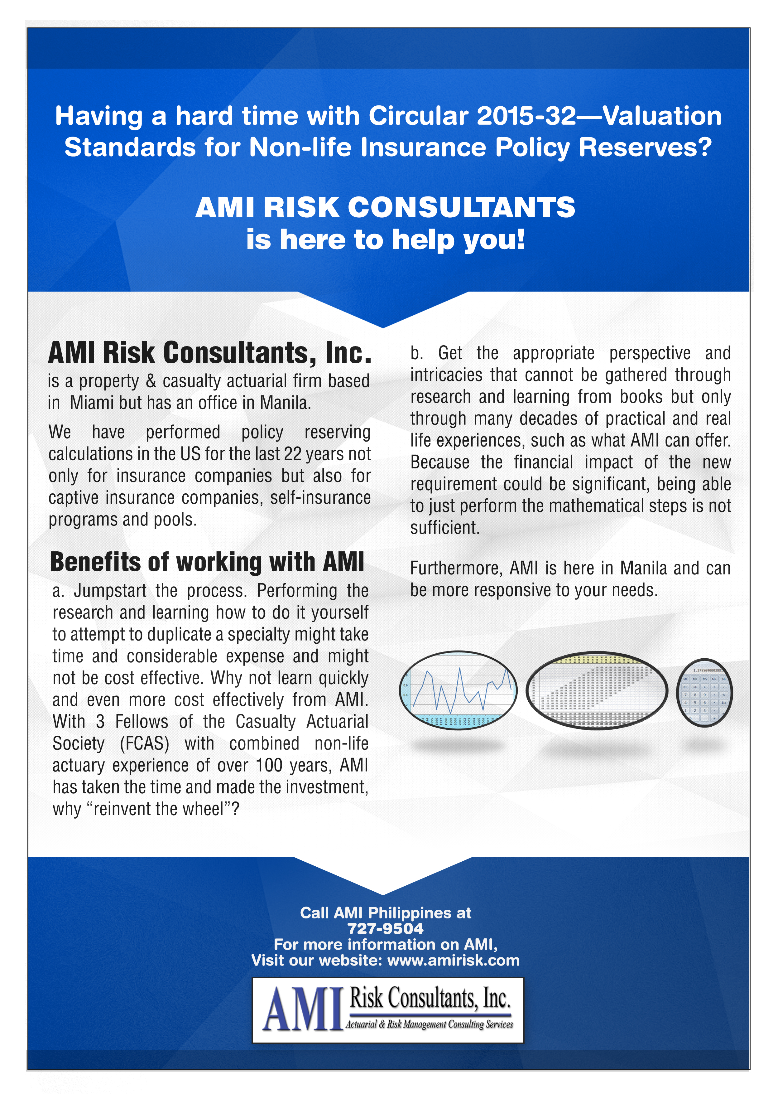 Ami risk and actuarial services ami risk consultants actuarial ami difference partnership with ami ami experience risk management state insurance xflitez Image collections